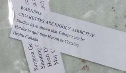 heroin warning