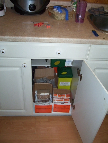 harm reduction cupboard